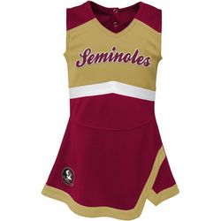 Florida State Little Girls Cheer Dress by Outerstuff