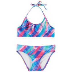 Reel Legends Big Girls Unicorn Bikini Swimsuit