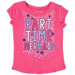 Reel Legends Little Girls Part-time Mermaid T-Shirt