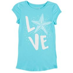 Reel Legends Big Girls Love Starfish T-Shirt