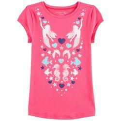 Reel Legends Big Girls Swimming Mermaids T-Shirt