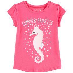 Reel Legends Little Girls Summer Princess T-Shirt