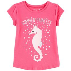 Reel Legends Little Girls Summer Princess T-Shirt