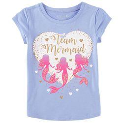 Reel Legends Little Girls Team Mermaid T-Shirt