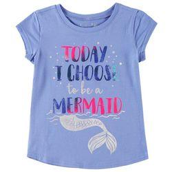Reel Legends Little Girls I Choose To Be A Mermaid T-Shirt