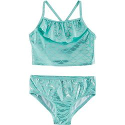 Reel Legends Little Girls Mermaid Tankini Swimsuit