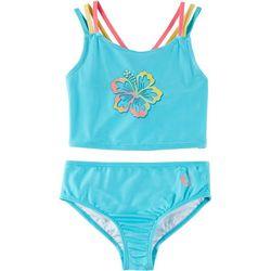 Reel Legends Big Girls Floral Tankini Swimsuit