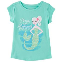 Reel Legends Little Girls Florida Mermaids T-Shirt