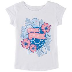Reel Legends Little Girls True To Your Shellf T-Shirt