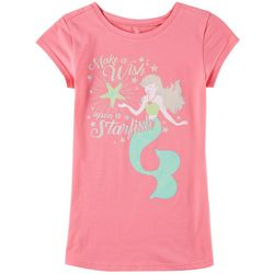 Reel Legends Big Girls Wish Upon A Starfish T-Shirt