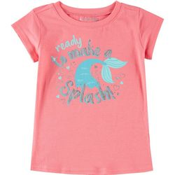 Reel Legends Little Girls Ready To Make A Splash T-Shirt