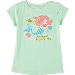 Reel Legends Little Girls We Mermaid For Each Other T-Shirt