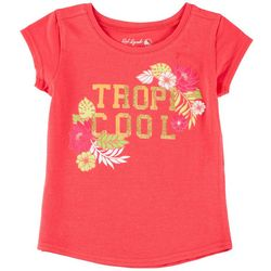 Reel Legends Little Girls Tropi-Cool T-Shirt