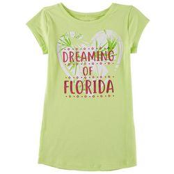 Reel Legends Big Girls Dreaming of Florida T-Shirt