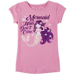 Reel Legends Big Girls Mermaid Hair Don't Care T-Shirt