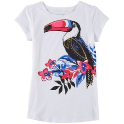 Reel Legends Big Girls Tropical Toucan T-Shirt