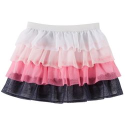 Kidtopia Toddler Girls Five Tier Ruffle Skirt