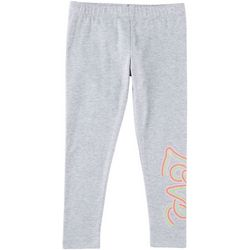 Kidtopia Toddler Girls Love Pull-On Leggings