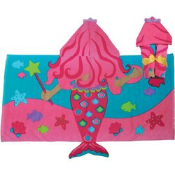 Stephen Joseph Girls Mermaid Hooded Towel