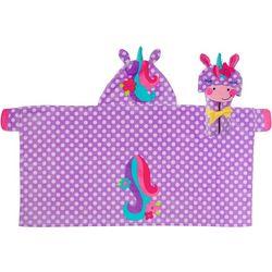 Stephen Joseph Girls Unicorn Hooded Towel
