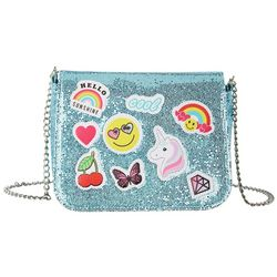 Capelli Girls Glitter Emoji Handbag