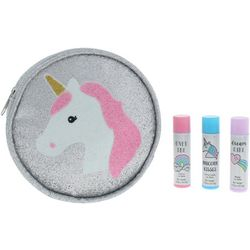 Capelli Girls 4-pc. Unicorn Lip Balm & Pouch Set