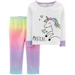 Carters Toddler Girls Magical Tie Dye Unicorn Pajama Set
