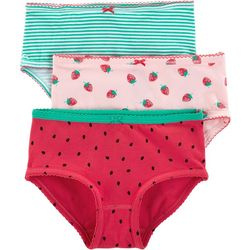 Carters Little Girls 3-pk. Fruity Brief Panties