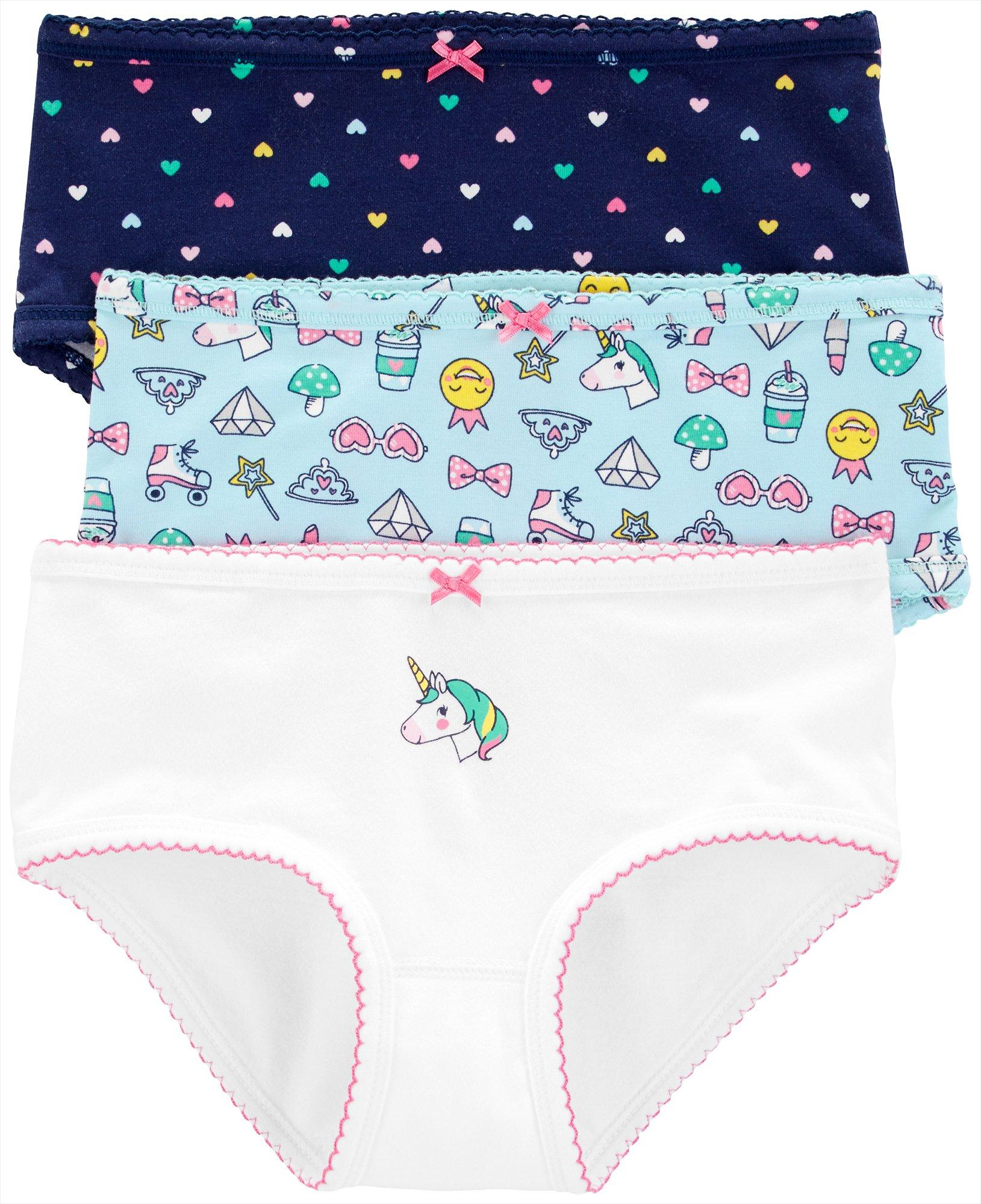 Carters Little Boys 3-pk Dinosaur Print Cotton Briefs