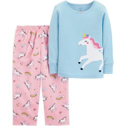 Carters Toddler Girls Unicorn Pajama Set
