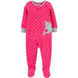 Carters Toddler Girls Narwhal Snug Fit Footie Pajamas