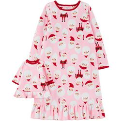Carters Little Girls Santa Claus Doll & Pajama Nightgown
