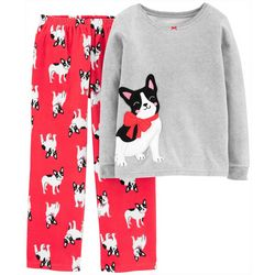 Carters Little Girls 2-pc. Puppy Dog Pajama Pants Set