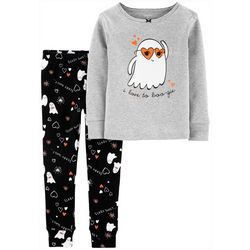 Carters Toddler Girls 2-pc. I Love To Boo-gie Pajama Set