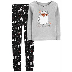 Carters Little Girls 2-pc. I Love To Boo-gie Pajama Set