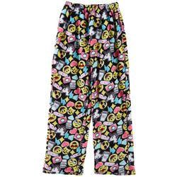 Rene Rofe Big Girls Emoji Print Pajama Pants