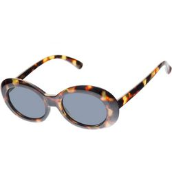 Riviera Girls Oval Tortoise Shell Sunglasses