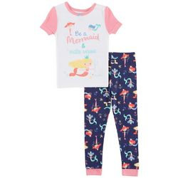 Nautica Toddler Girls Be A Mermaid Pajama Set