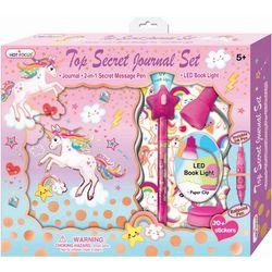 Hot Focus Unicorn Top Secret Journal Set