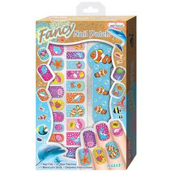 Hot Focus Ocean Fancy Nail Patch Kit