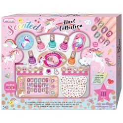 Hot Focus Scented Unicorn Nail Makeover Set