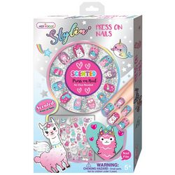 Hot Focus Scented Llama Press On Nail Kit
