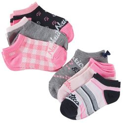 Nautica Girls 6-pk. Anchor Ankle Socks Set