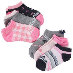 Nautica Girls 6-pk. Anchor Ankle Socks Set