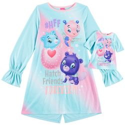 Hatchimals Big Girls Hatch Friends Forever Nightgown Set