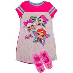 LOL Surprise Little Girls 2-pc. Excited Yet? Nightgown