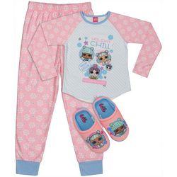 LOL Surprise Big Girls 3-pc. Holiday Chill Pajama Set