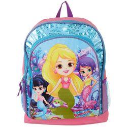 Splashlings Girls Mermaid Backpack