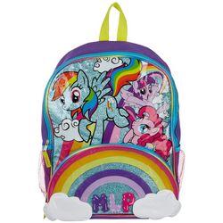 My Little Pony Girls Glitter Rainbow Backpack