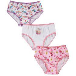 My Little Pony Girls 3-pk. Brief Panties